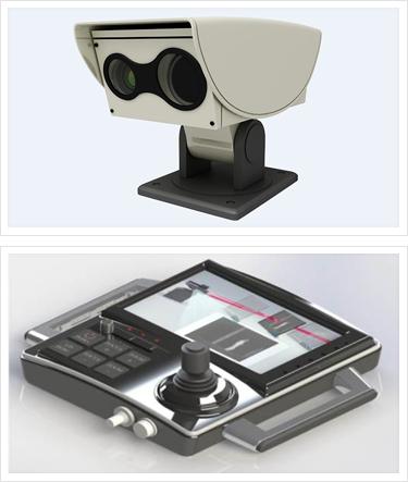 Middle Range Surveillance Camera WNV-105-SF System